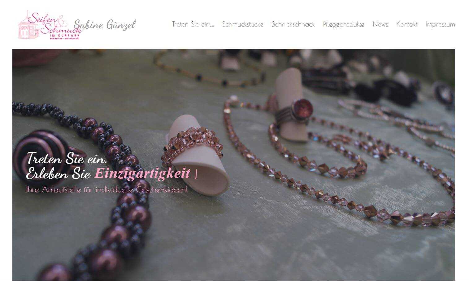 Screenshot seifenundschmuck.de